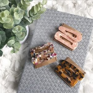 Accessories - Set of 3 Hair Clips